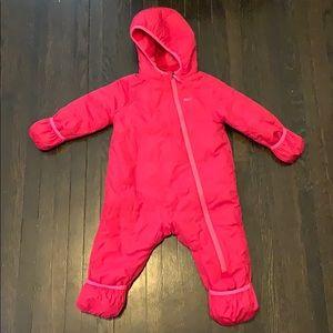 REI Kids Pink Snowsuit 18 Months